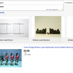 schermata Ebay soldatini