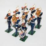 Vintage Britains Lead Royal Marine Band