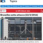 Bruxelles under attack