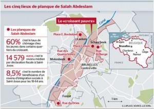 I luoghi dei rifugi di Salah