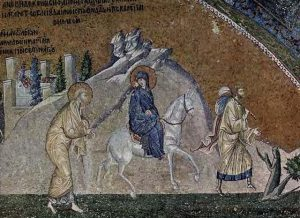 Un mosaico di San Salvatore in Chora a Istanbul, e un fotogramma di Into the Wild (2007) di Sean Penn.